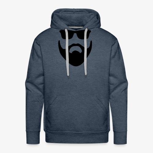 Beard & Glasses - Men's Premium Hoodie