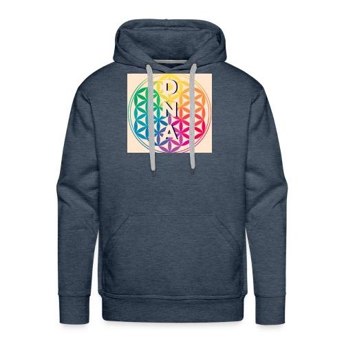 Flower of Life - DNA - Men's Premium Hoodie