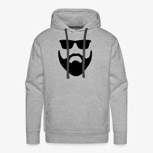 Beard & Glasses - Men's Premium Hoodie