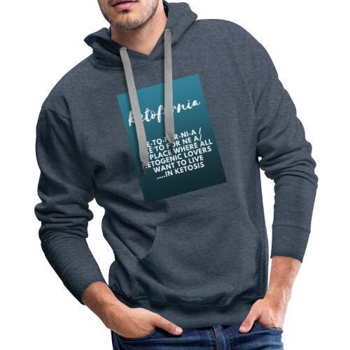 Ketofornia - Men's Premium Hoodie
