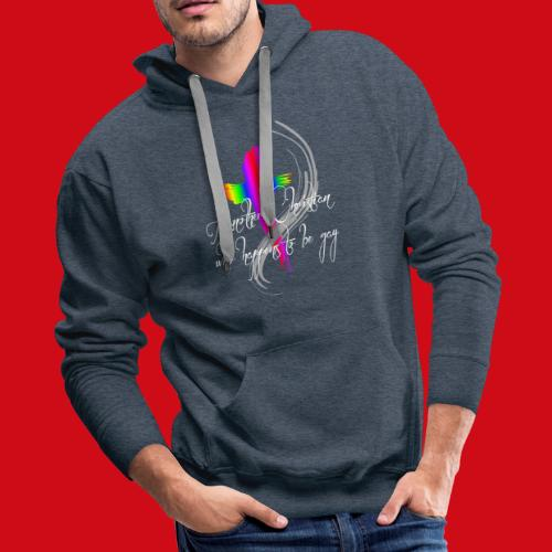 Another Gay Christian - Men's Premium Hoodie