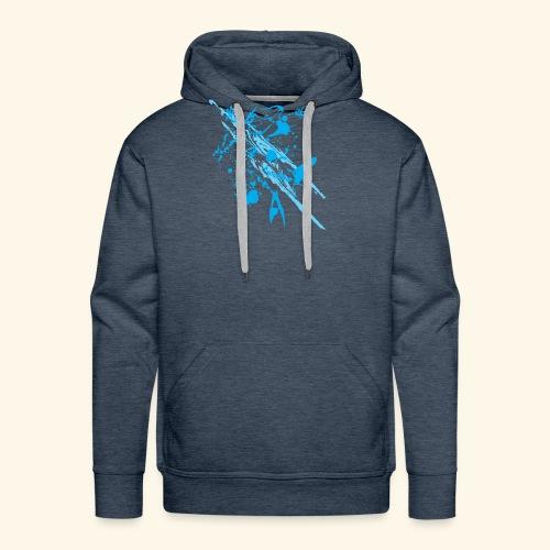 Blue Splash - Men's Premium Hoodie