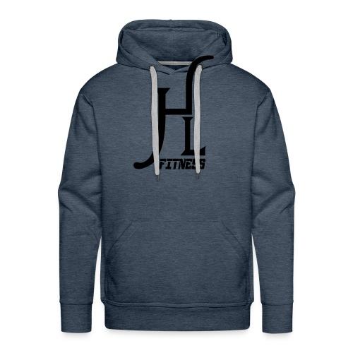 HLF Vector Blk - Men's Premium Hoodie