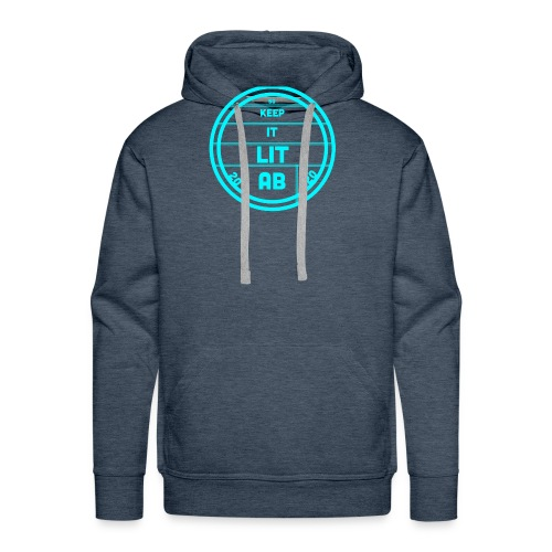 AB KEPP IT LIT 50 SUBS MERCH - Men's Premium Hoodie