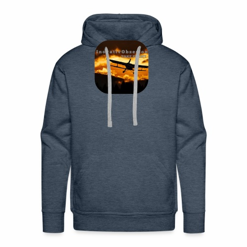 "InovativObsesion ""TAKE FLIGHT"" apparel - Men's Premium Hoodie"