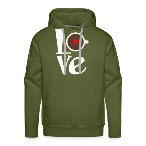 Love Coffee - Men's Premium Hoodie