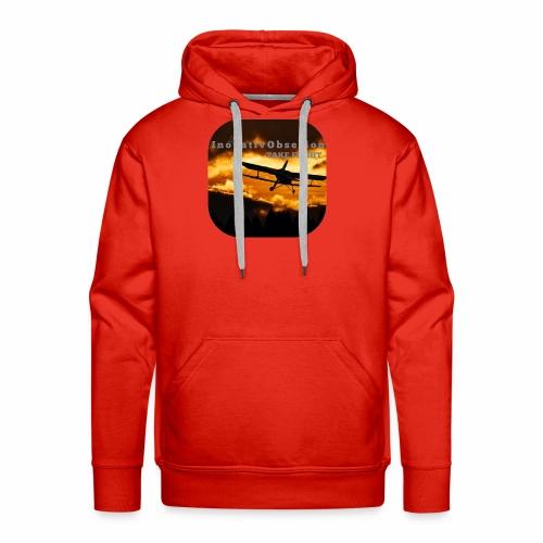 "InovativObsesion ""TAKE FLIGHT"" apparel - Men's Premium Hoodie"
