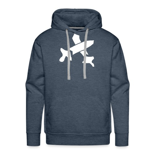 White Swords - Men's Premium Hoodie