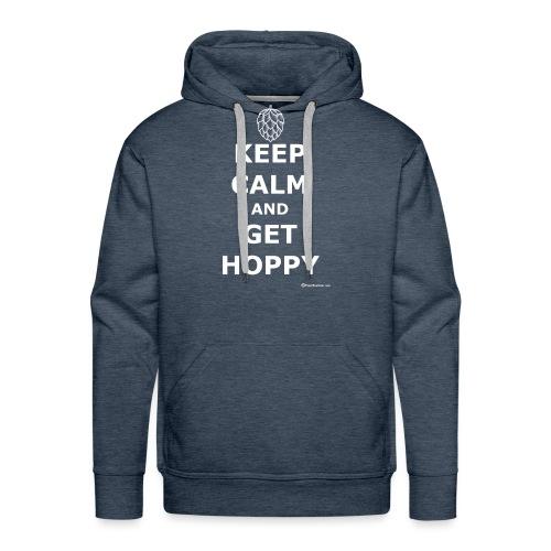Keep Calm And Get Hoppy - Men's Premium Hoodie
