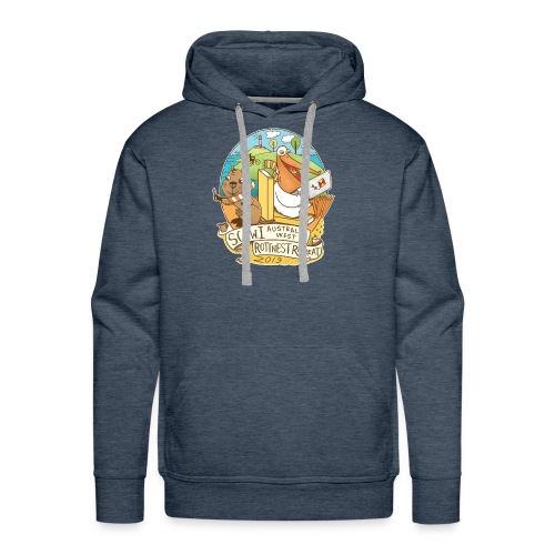 SCBWI Australia West 2019 Rottnest Retreat - Men's Premium Hoodie