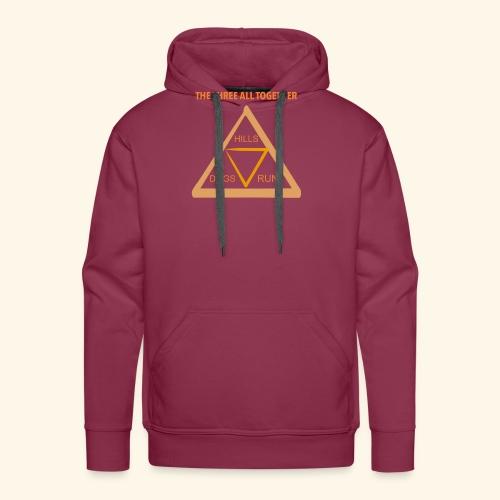 Run4Dogs Triangle - Men's Premium Hoodie