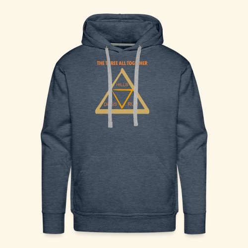 Run4Dogs Triangle - Men's Premium Hoodie