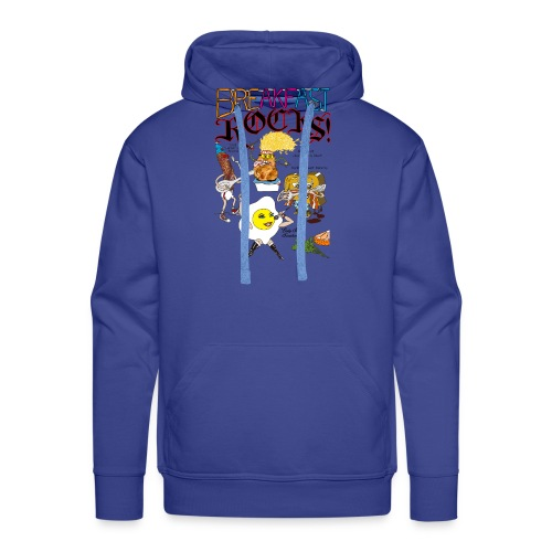 Breakfast Rocks! - Men's Premium Hoodie