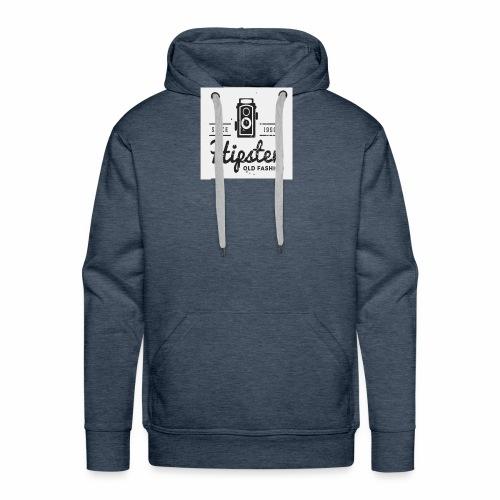hipster4 - Men's Premium Hoodie