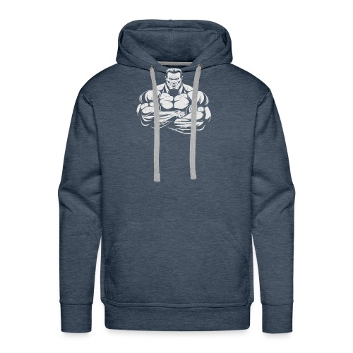An Angry Bodybuilding Coach - Men's Premium Hoodie