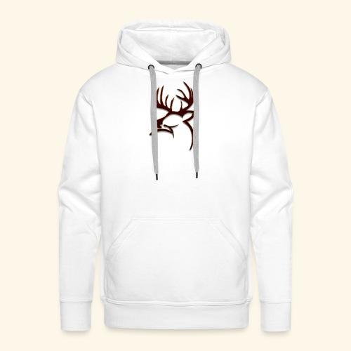 Buck Logo - Men's Premium Hoodie