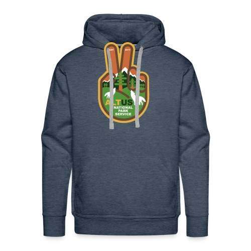 ALT US National Park Service - Peace - Men's Premium Hoodie