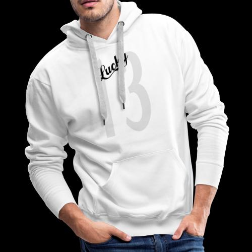 Lucky Thirteen - Men's Premium Hoodie