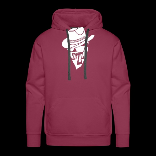 DREAM BANDITS WHITE Large Logo - Men's Premium Hoodie