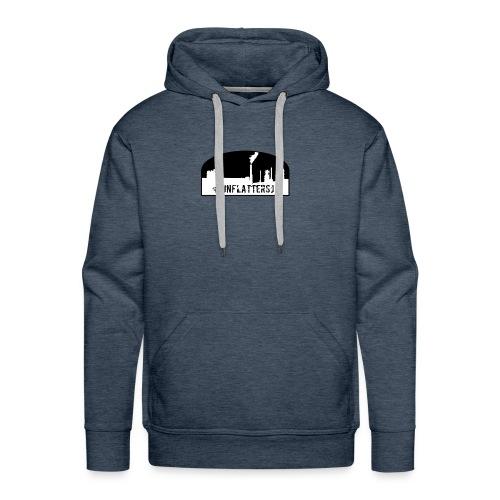 Unflatter Hashtag logo - Men's Premium Hoodie