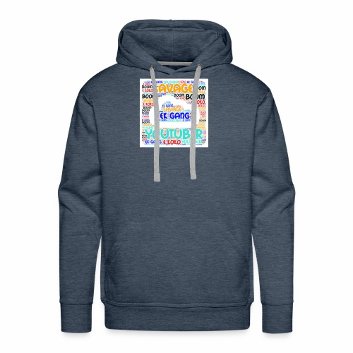 WORD MIX - Men's Premium Hoodie