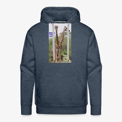 Two Headed Giraffe - Men's Premium Hoodie
