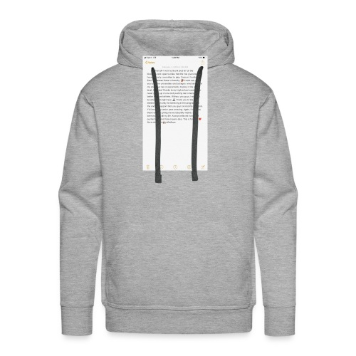 Text from a Football Commit - Men's Premium Hoodie
