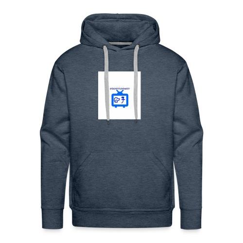 OdogVlogsTv Offical Logo - Men's Premium Hoodie