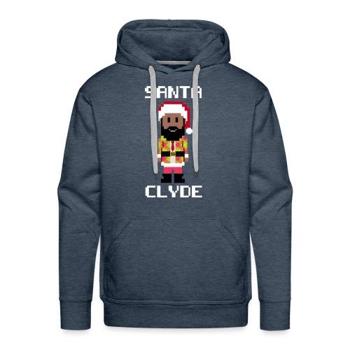 Santa Clyde So Fly (8-Bit) - Men's Premium Hoodie