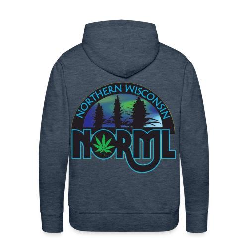 Northern Wisconsin NORML Official Logo - Men's Premium Hoodie