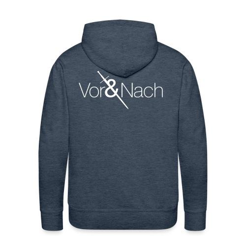 Vor & Nach Brand - Men's Premium Hoodie