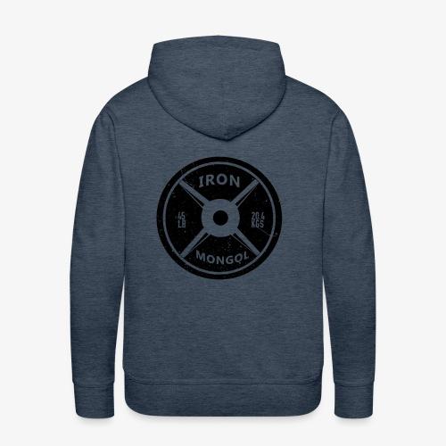 45lb Plate - Men's Premium Hoodie