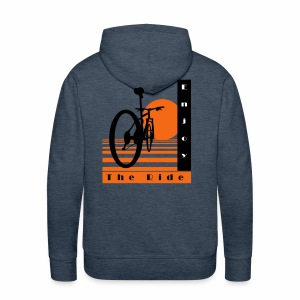 Bicycle Cool Ride T-Shirt - Men's Premium Hoodie
