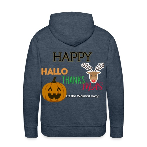 HAPPY HALLO-THANKS-MAS - Men's Premium Hoodie