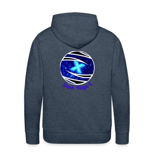 Dark NinjaX clothing logo - Men's Premium Hoodie