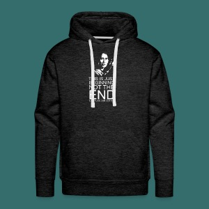 This is just beginning, not the end. - Men's Premium Hoodie