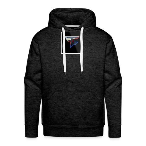Faze Logo 05 - Men's Premium Hoodie