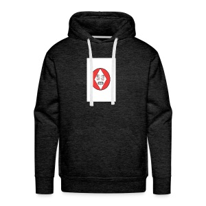 Red white reccklezz exchange - Men's Premium Hoodie