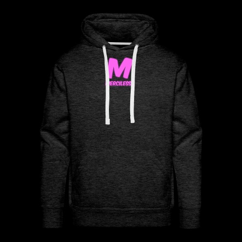 MercilessApparel pink logo - Men's Premium Hoodie