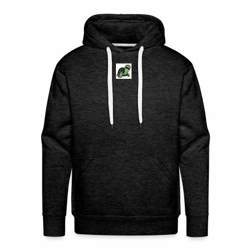 turtle gang logo - Men's Premium Hoodie