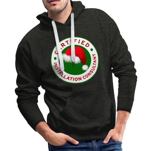 Christmas Lights R Us Emblem - Men's Premium Hoodie