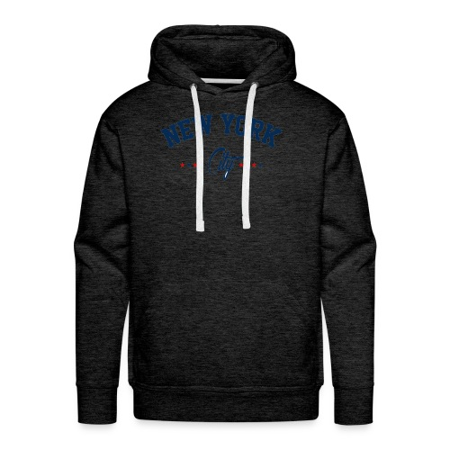 New York City Shirt - Men's Premium Hoodie