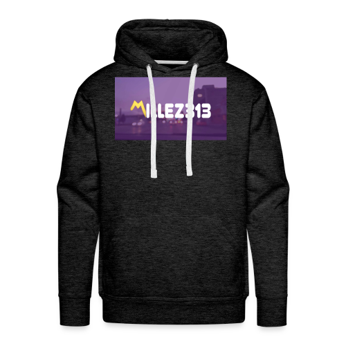 Millez313 with background Tee - Men's Premium Hoodie