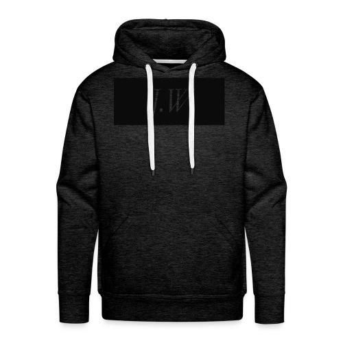 j-w_shirt_ - Men's Premium Hoodie