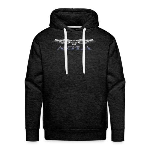 agla_t_shirt_bw - Men's Premium Hoodie