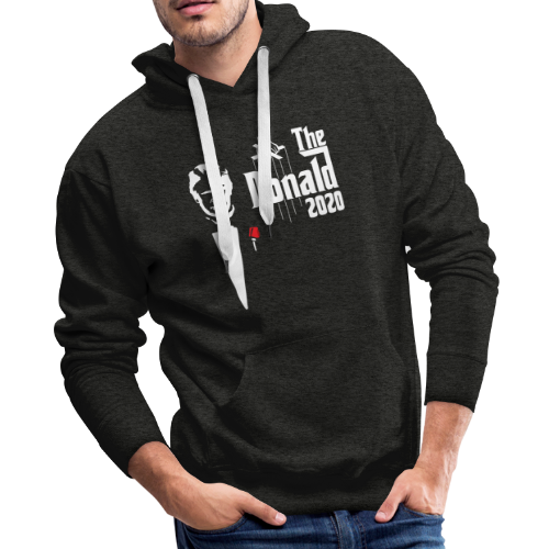 The Donald 2020 Godfather - Men's Premium Hoodie