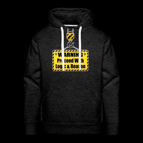 Warning - Men's Premium Hoodie