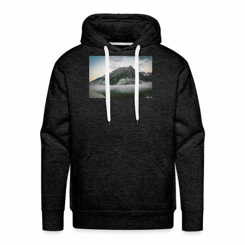 mountain view - Men's Premium Hoodie