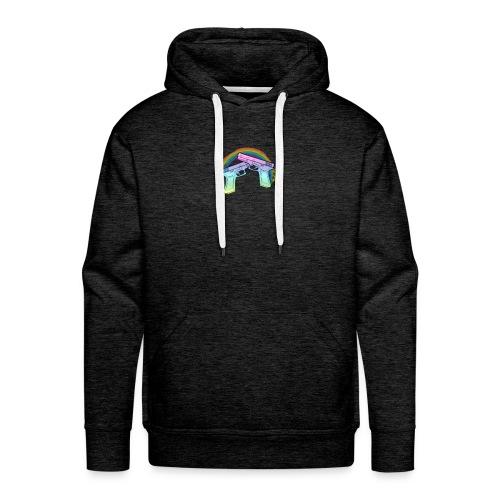 Rainbow guns - Men's Premium Hoodie