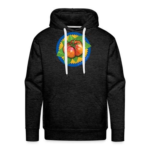 Heirloom Tomato Art, by Urban Gardens - Men's Premium Hoodie